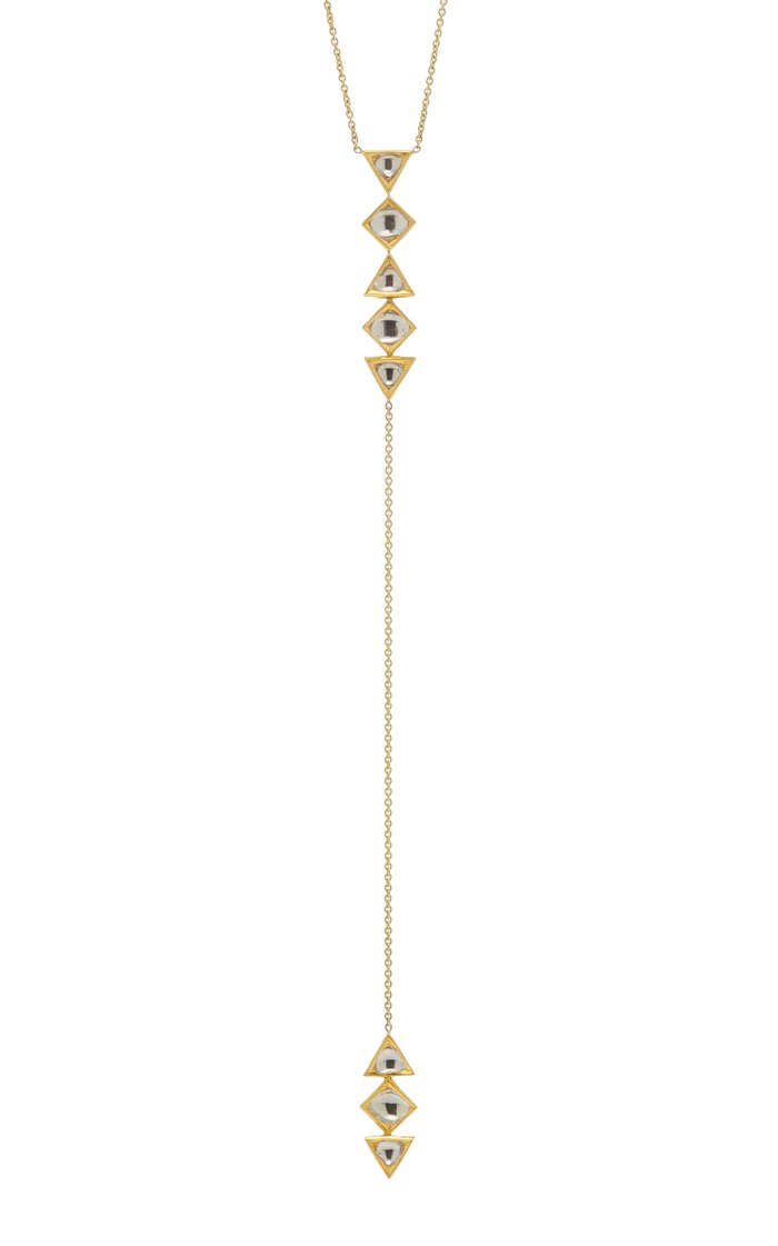 Vintage Gold And Diamond Necklace
