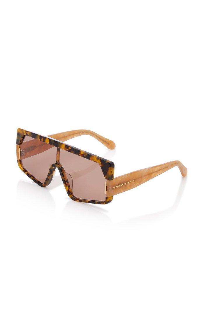 Vorticist Tortoiseshell Acete Sunglasses