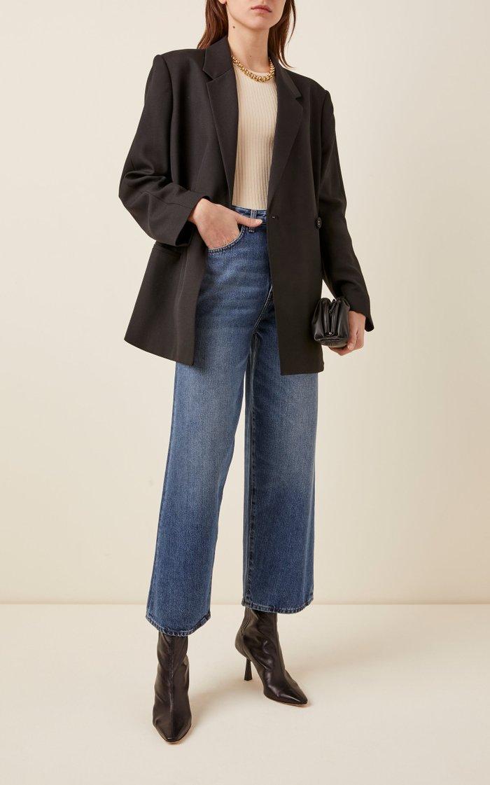 Flair Rigid High-Rise Wide-Leg Jeans