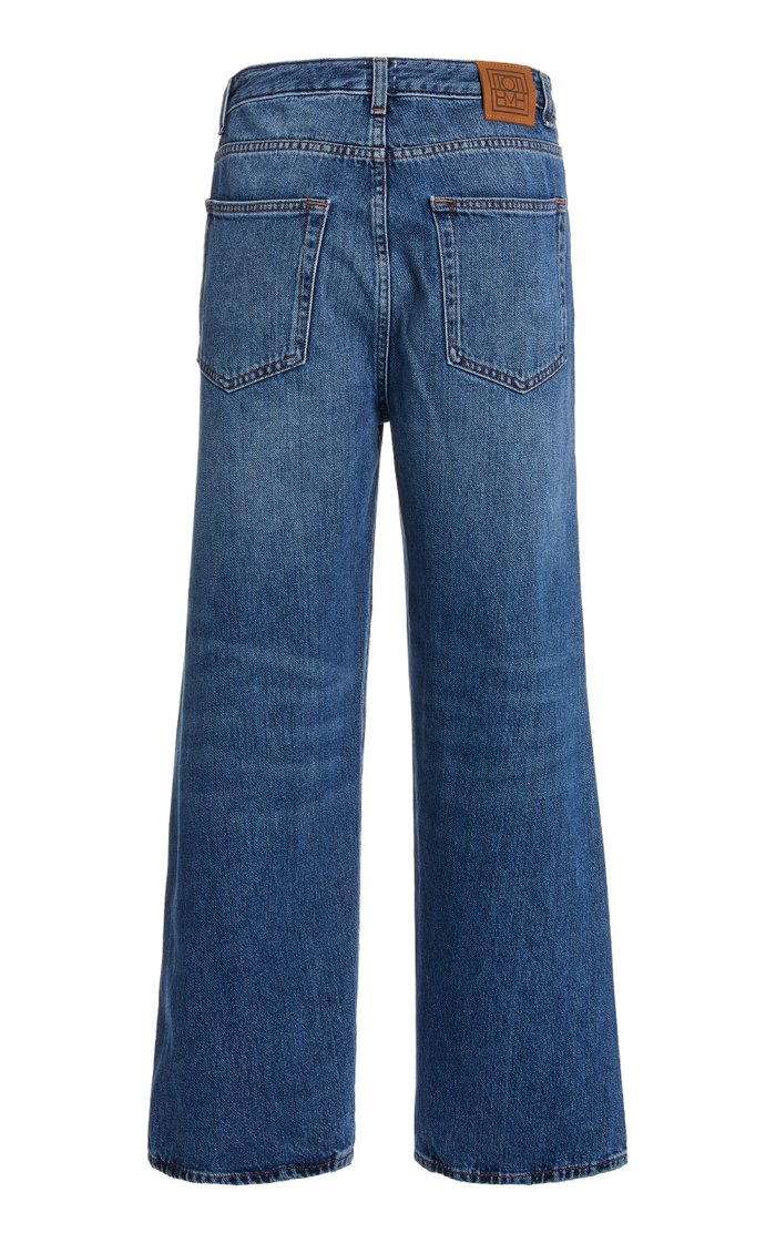 Flair Rigid High-Rise Wide-Leg Jeans