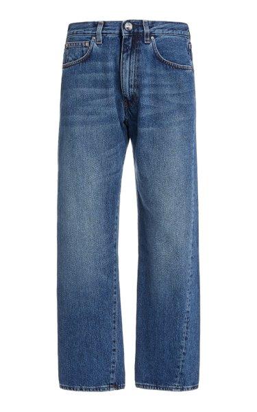 Original Rigid Mid-Rise Straight-Leg Jeans