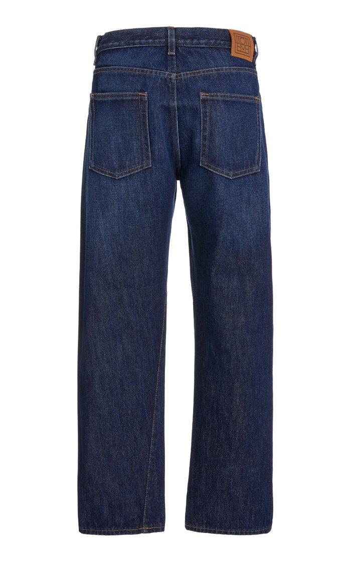 Original Rigid Mid-Rise Straight-Leg Jeans