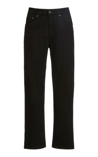 Rigid Mid-Rise Straight-Leg Jean