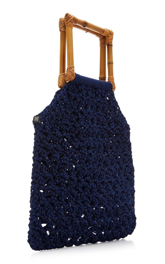 Juniper Macramé Handle Bag