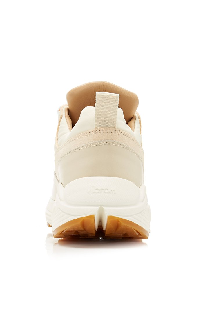Monte Grappa Leather and Suede Sneakers