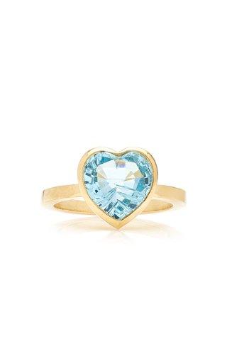 London 18K Gold Topaz Ring