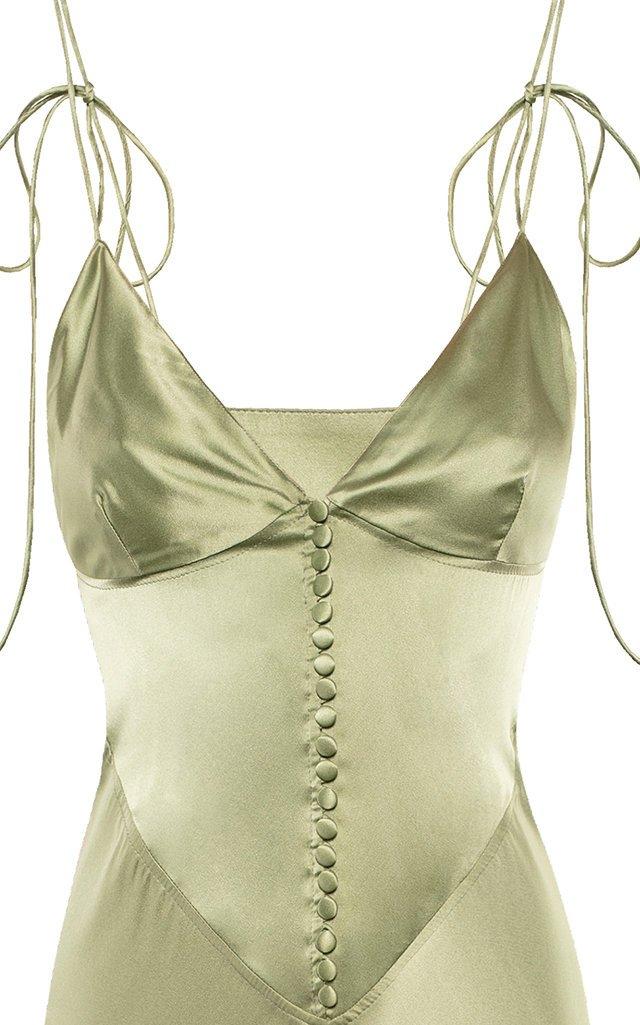 Hydra Silk Slip Dress