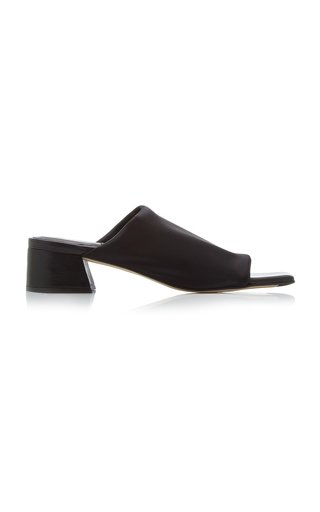 Caterina Lycra Heeled Slide