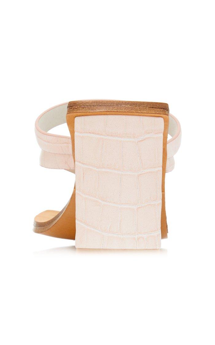 Sebrina Leather Sandals