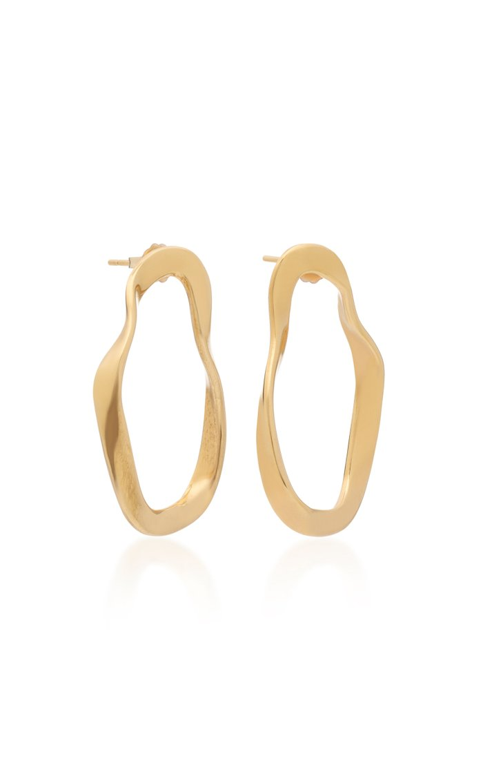 Small Vera Gold Vermeil Earrings
