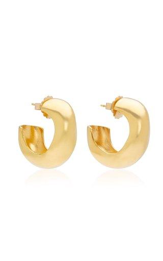 Celia Medium Gold Vermeil Hoops