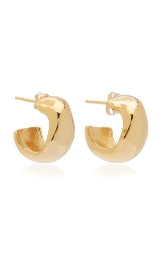 Celia Small Gold Vermeil Hoop Earrings
