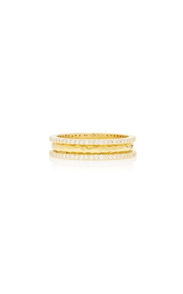 Chandni 18K Gold and Diamond Ring