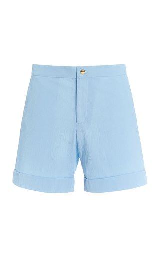 Voilier Seersucker Suit Shorts