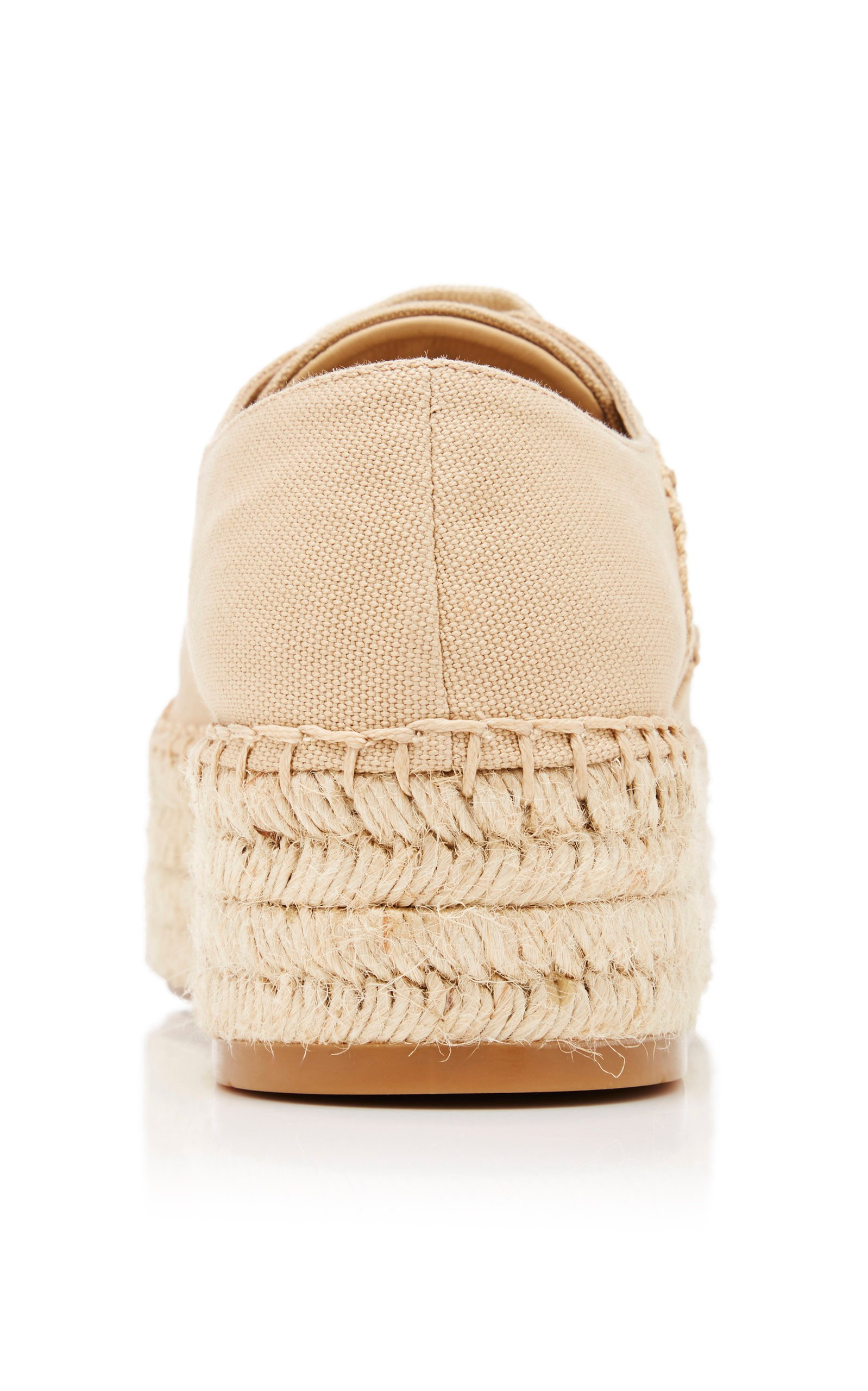 Logo Canvas Espadrille Sneakers By