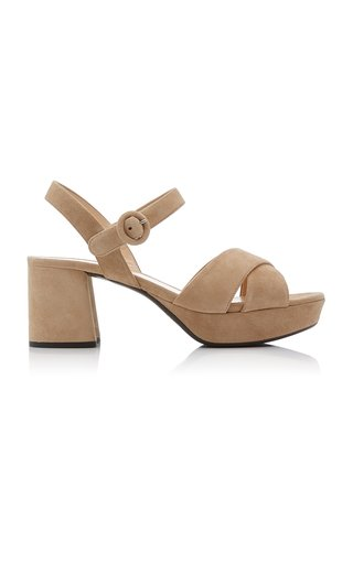 Chunky Suede Sandals