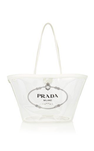 Transparent PVC Logo Tote Bag