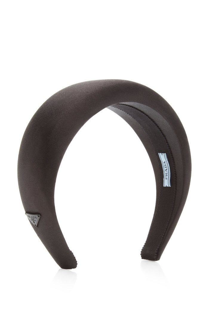 Logo Satin Headband
