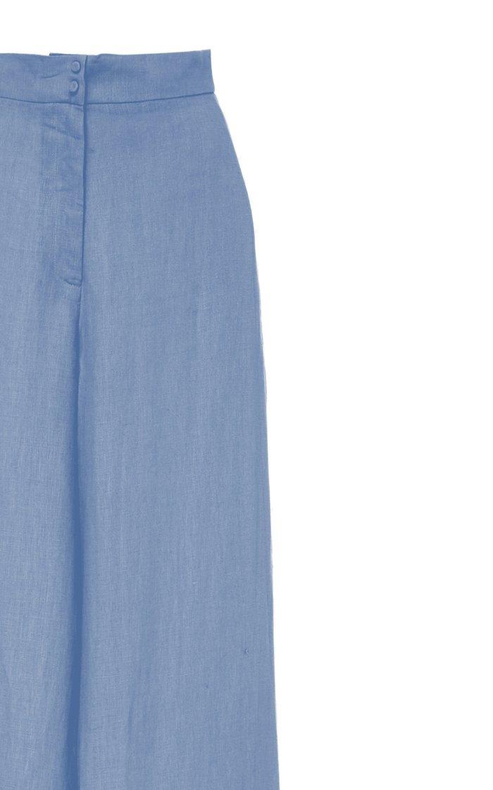 Aguirre Linen Wide Leg Pants