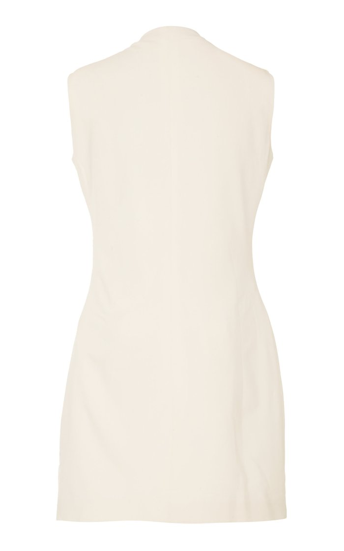 Nieves Belted Cotton Mini Dress