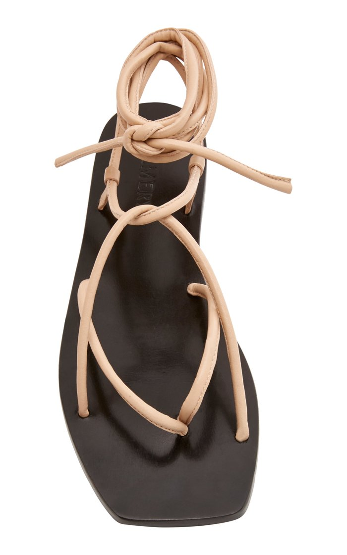 Hazel Leather Sandals