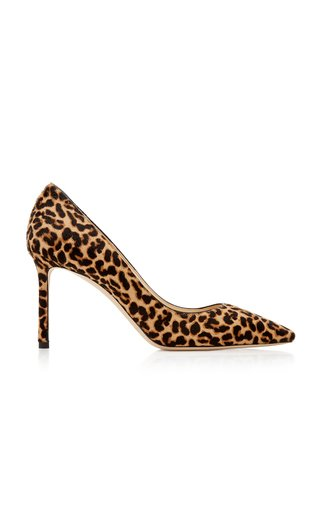 Romy Printed Calf Hair Pumps
