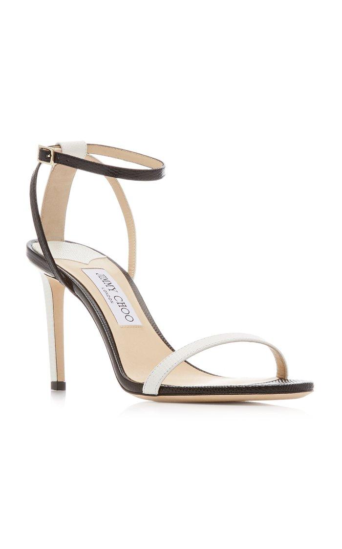 Minny Contrast Sandals