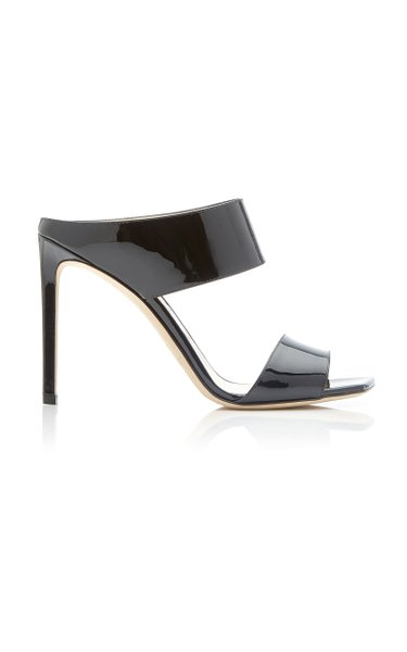 Hira Patent Leather Sandals