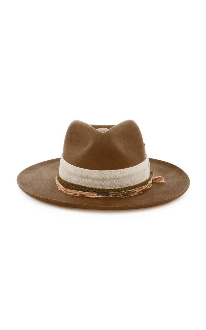 Esalen Wide-Brim Felt Hat