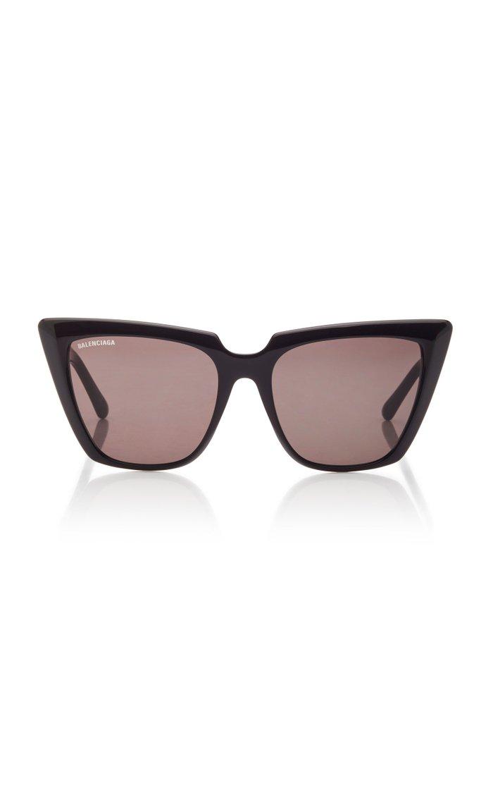 Tortoiseshell Acetate Square-Frame Sunglasses