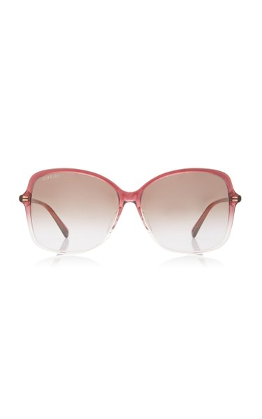 Ultralight Round-Frame Acetate Sunglasses
