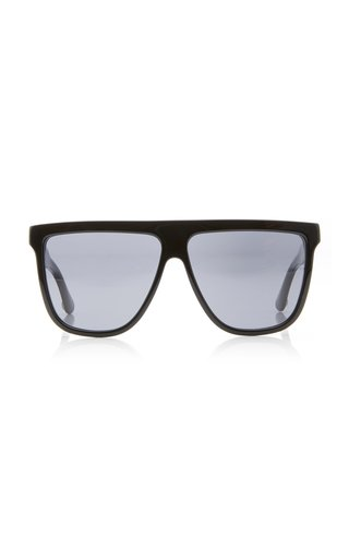 Guillochet Plaque Acetate Sunglasses