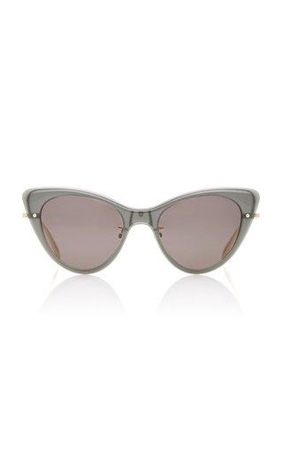 Skeleton Cat-Eye Acetate Sunglasses