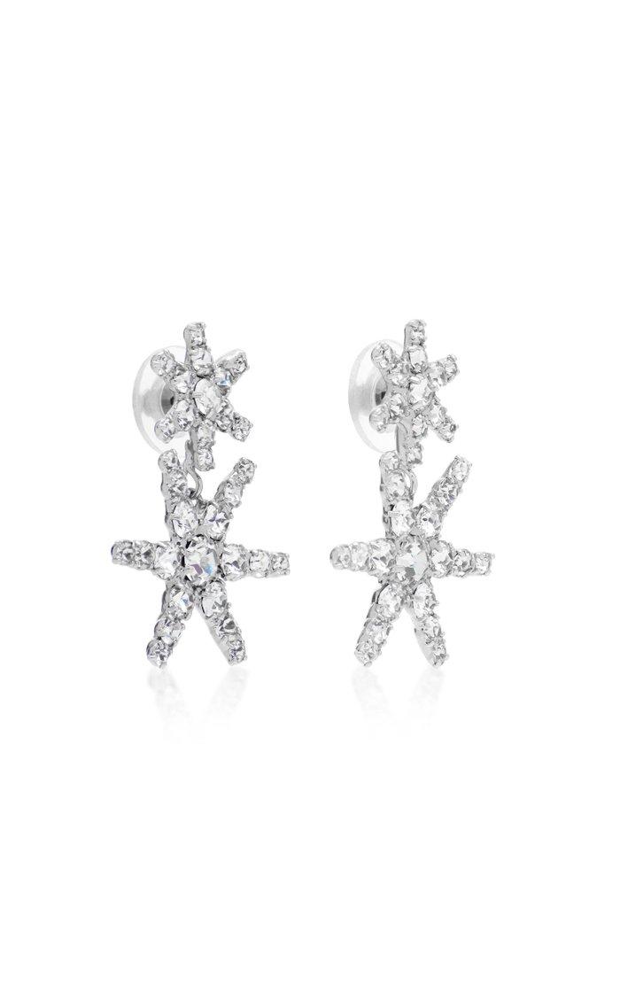 Pluto Crystal Drop Earrings