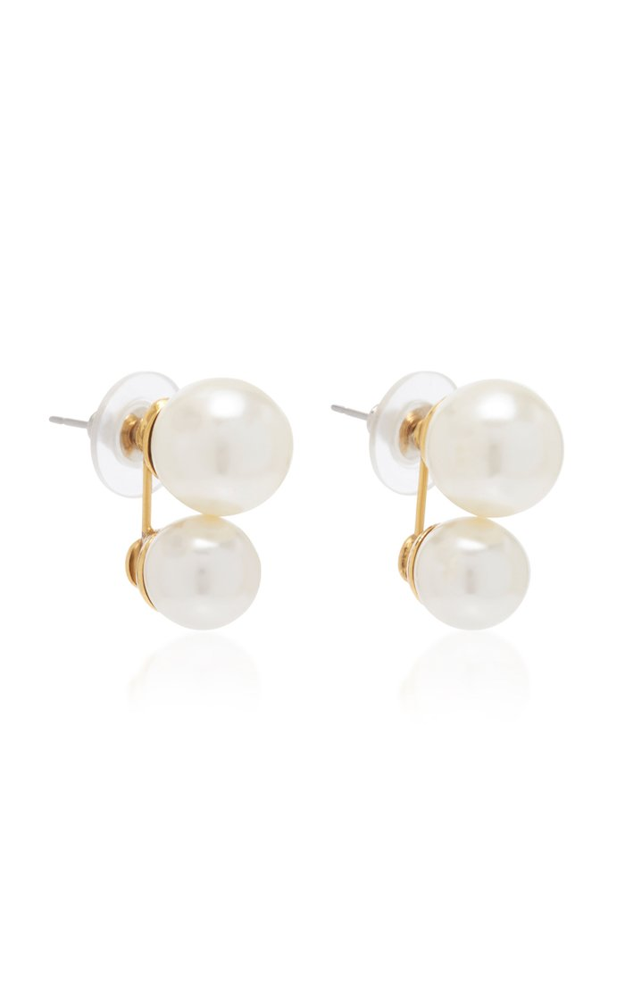 Gretel Faux Pearl Earrings