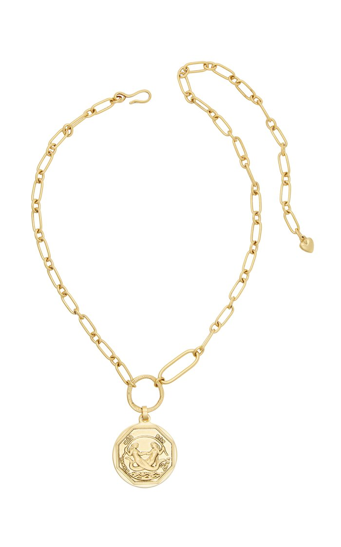 Siren 24K Gold-Plated Necklace