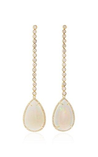 Opal and Diamond Kelly Earring
