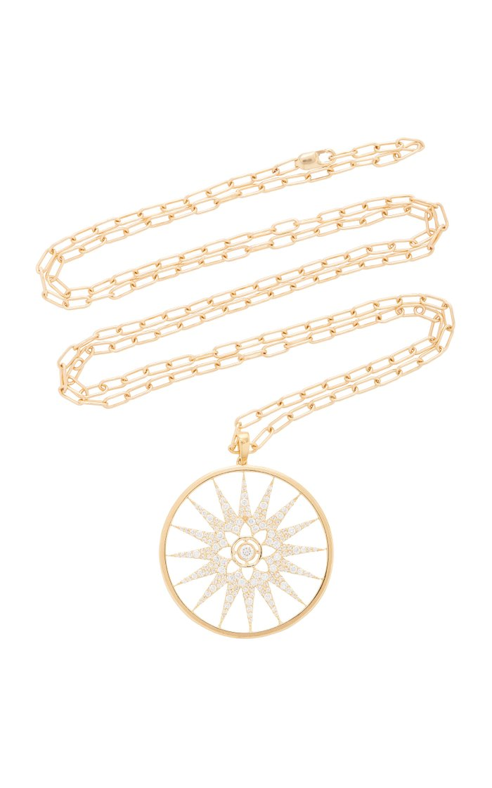 Florence 18K Gold and Diamond Necklace