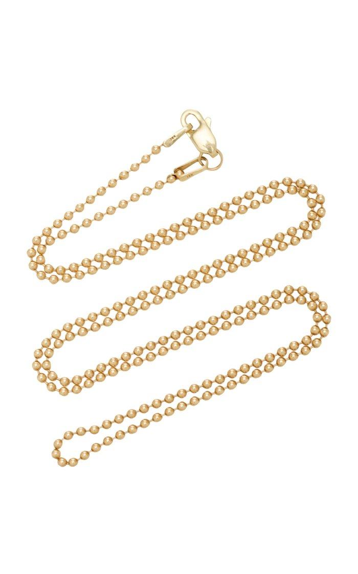 "14K Gold 30"" Ball Chain"
