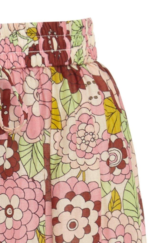 Marina Cotton Midi Skirt