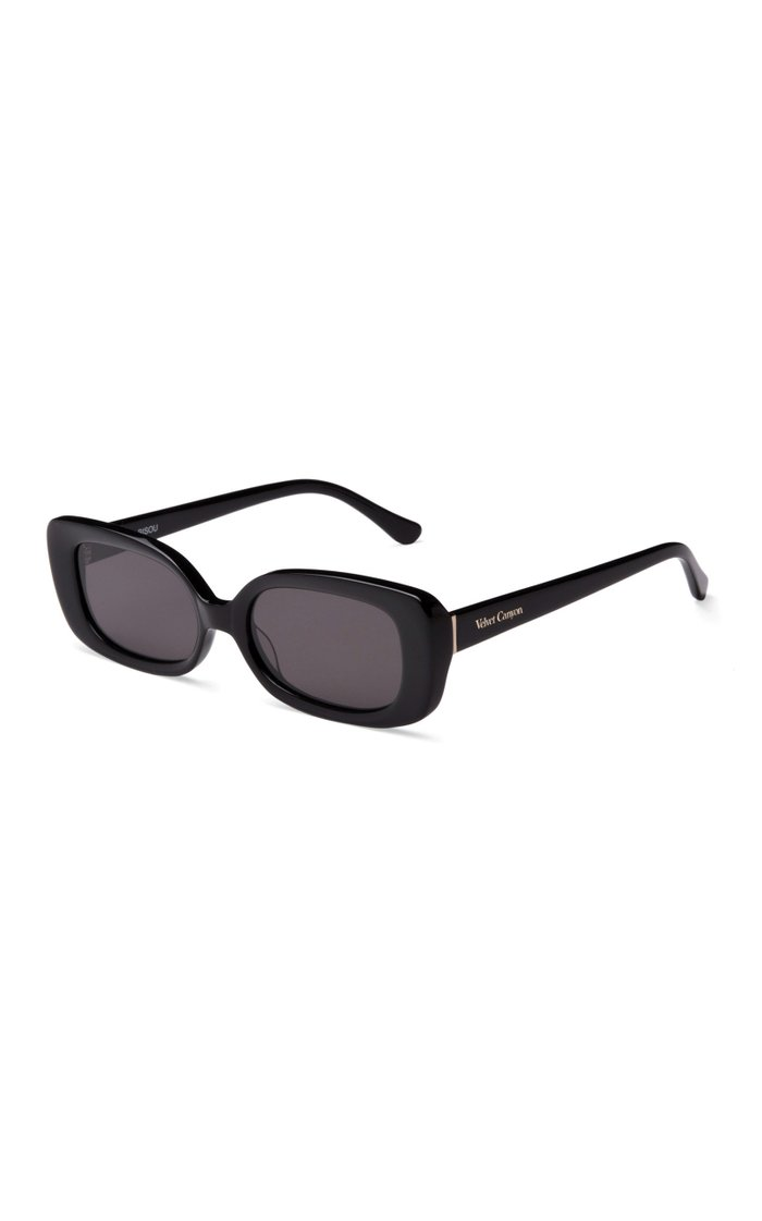 Zou Bisou Square-Frame Acetate Sunglasses