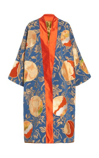 Exclusive One Of A Kind Printed Reversible Coat