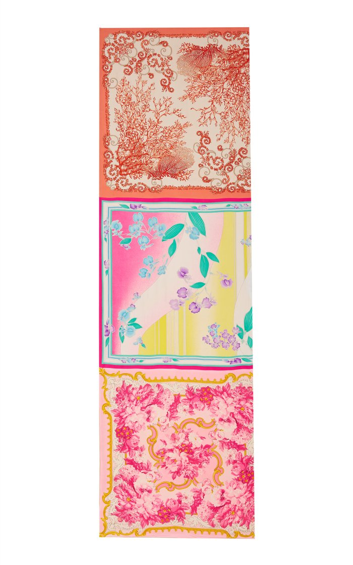 Exclusive One Of A Kind Vibrant Stole