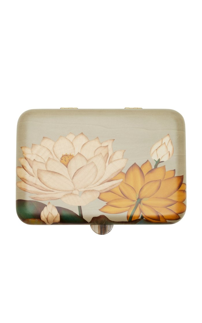 Floral Marquetry Jewelry Box