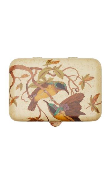 Mockingbird Marquetry Jewelry Box