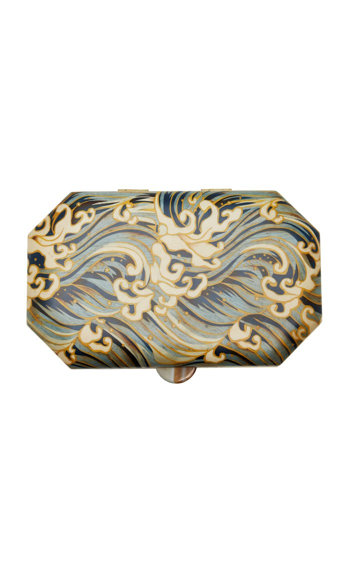 Waves Marquetry Jewelry Box
