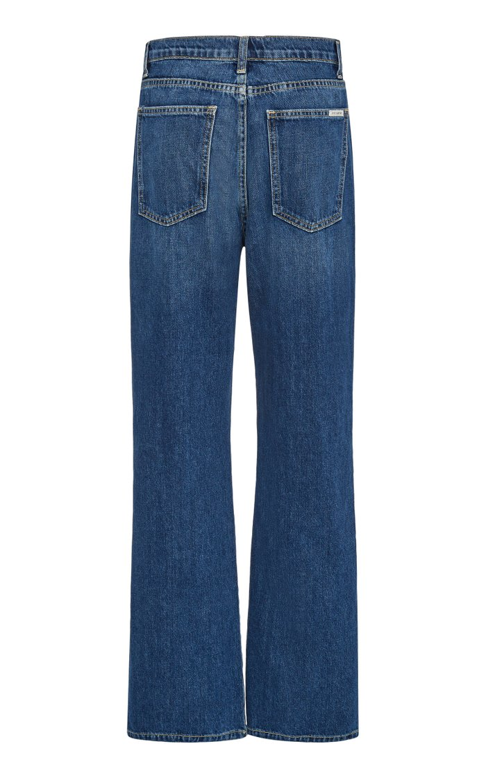 Juliette Rigid Mid-Rise Wide-Leg Jeans