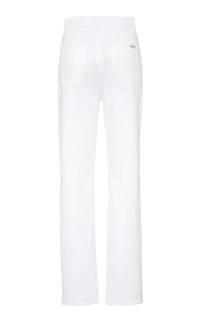 Juliette Mid-Rise Straight-Leg Jeans