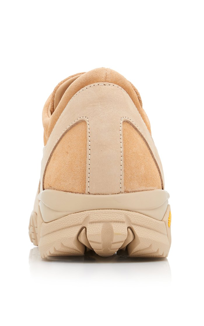 Possagno Suede Low-Top Sneakers