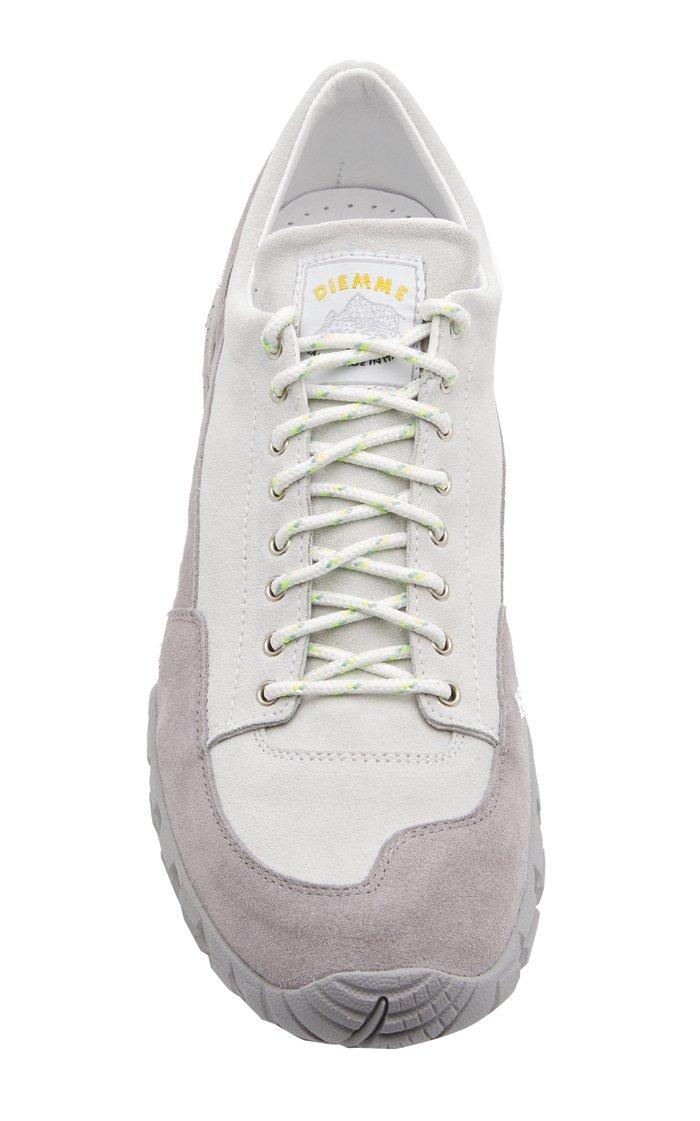 Possagno Suede Low-Top Sneakers